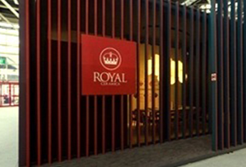 Royal Ceramica in Italy Exhibition