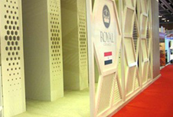 Royal Ceramica in Dubai Exhibition